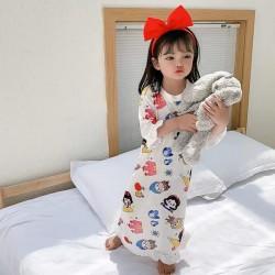 Snow White Ruffle Sleeping Dress