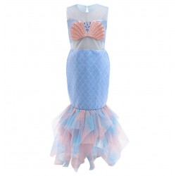 Disney Blue Ariel Mermaid Tutu Costume