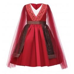 Disney Red Mulan Costume