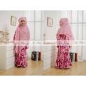 Lnice Gamis Pink Flowers