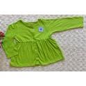 Oshkosh Green Flower LS Tee