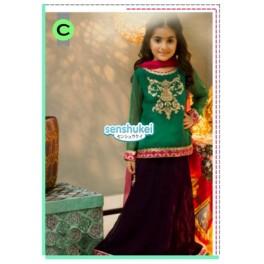 Senshukei Green Dress Set