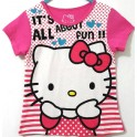 Hello Kitty Stripe Pink