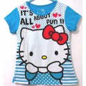 Hello Kitty Stripe Blue