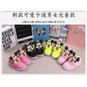 Mickey Face Pink-Black-yellow Lamp Shoes