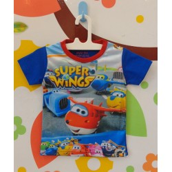 Blue Tee Super Wings