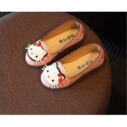 Pink Hello Kitty Flat Shoes