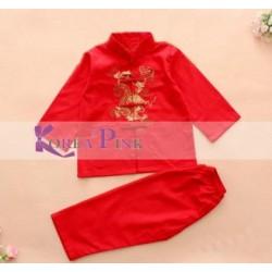 KoreaPink Red CNY Boy Set