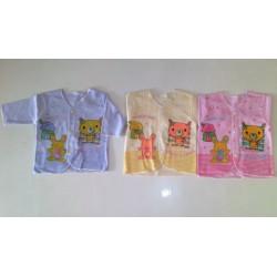 Baju Atasan Lengan Panjang Boneka Tiga Warna