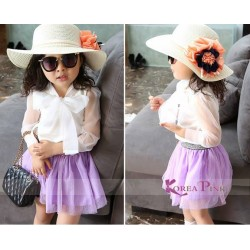 Korea Purple Tutu Set