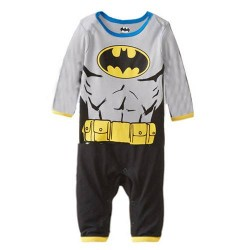 Batman Grey Romper