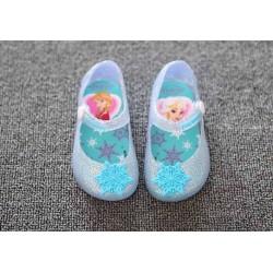 Blue Frozen Jelly Shoes