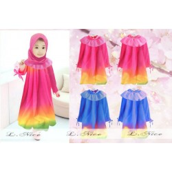 LNICE Gamis Pink Only