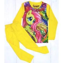 Little Pony Yellow Pyjamas Cotton-Spandex