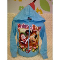 Jacket Masya and the Bear blue