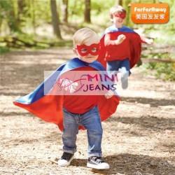 MiniJeans Flash 4in1 Set(LS Tee+Jeans+Cape) No Mask