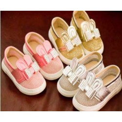 (Pink only) Rabbit Sparkle Shoes