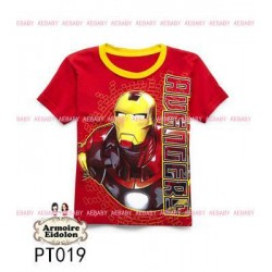 Ironman Red AE Tee