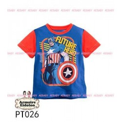 Captain America BlueRed AE Tee