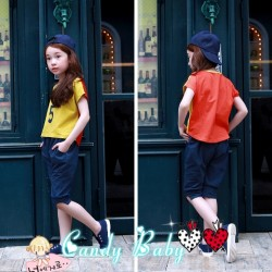 CandyBaby Two Colour Top Set