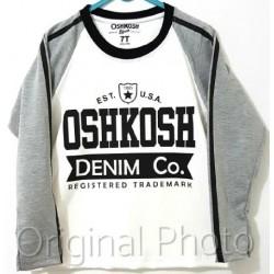 OshKosh White Grey LS