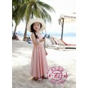 DRG-EB 005 Ebuty Softpink Dress