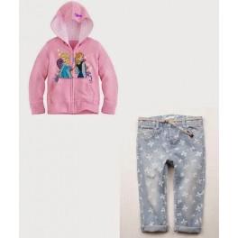 Samgami SoftPink Elsa Anna Jacket+Jeans