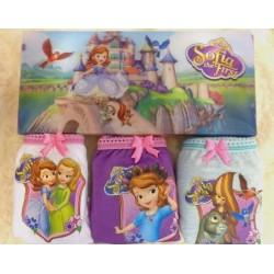 Disney Original Sofia 3 pcs Underwear