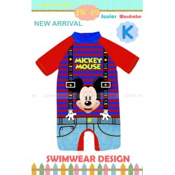 Junior Wardrobe Mickey Mouse Swimsuits