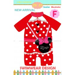 Junior Wardrobe Minnie Mouse Swimsuits