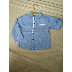 MotherCare Blue Longsleeve Shirt